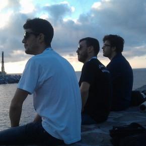 Aitor Cruz, Tonet & Bouman al sol.